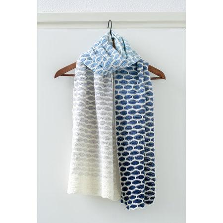 Caro's Atelier Haakpatroon  Honinggolfjes sjaal (digitaal)