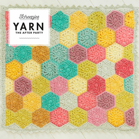Scheepjes Yarn After Party 42 Confetti Blanket