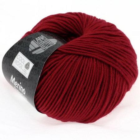 Lana Grossa Cool Wool 514 - Donkerrood