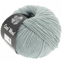 Lana Grossa Cool Wool Ijsgrijs (2028)