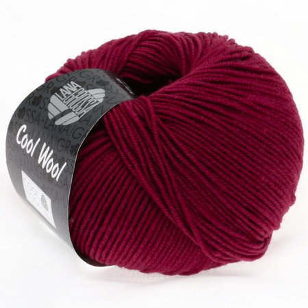 Lana Grossa Cool Wool Wijnrood (468)
