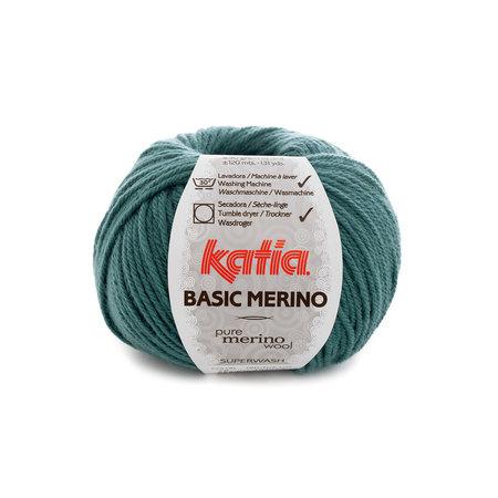 Katia Basic Merino 78 - blauwgroen