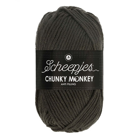 Scheepjes Chunky Monkey Dark Grey (2018)