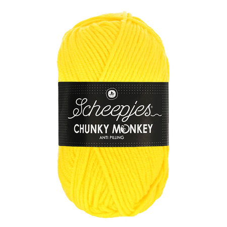 Scheepjes Chunky Monkey 2008 - Yellow