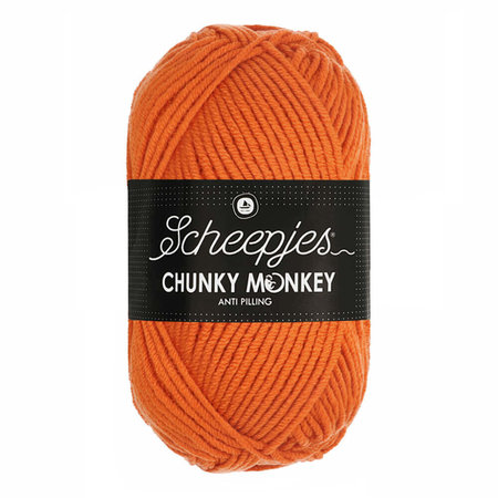 Scheepjes Chunky Monkey Deep Orange (1711)