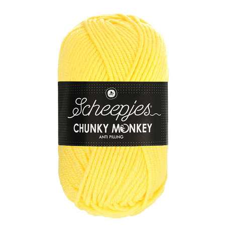 Scheepjes Chunky Monkey 1263 - Lemon