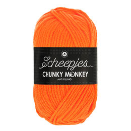 Scheepjes Chunky Monkey Neon Orange (1256)