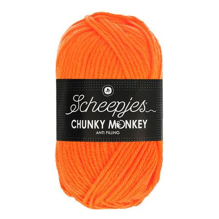 Scheepjes Chunky Monkey Neon Orange (1256)