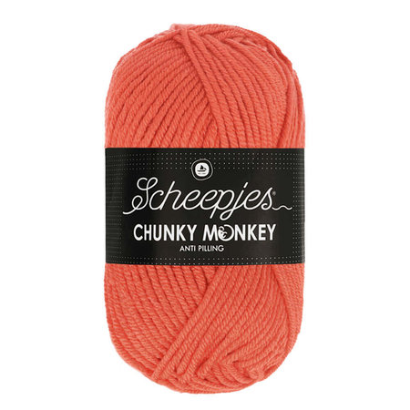 Scheepjes Chunky Monkey 1132 - Coral