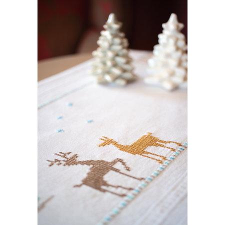 Vervaco Borduurpakket loper Nordic Christmas