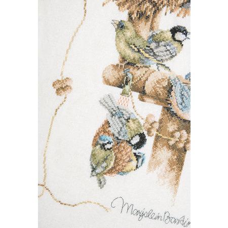 Lanarte Borduurpakket Marjolein Bastin  Vogelhuisje