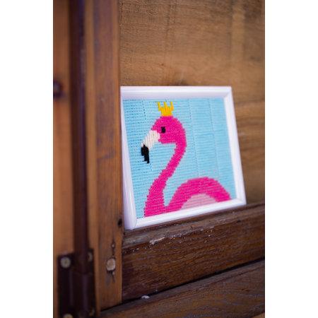 Vervaco Flamingo Spansteek - Kits 4 Kids