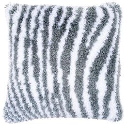 Vervaco Knoopkussen Zebra motief