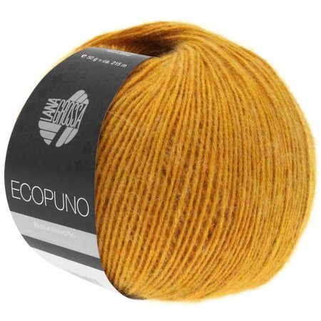 Lana Grossa Ecopuno 33 - Goudgeel