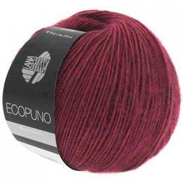 Lana Grossa Ecopuno 35 - Bordeauxrood