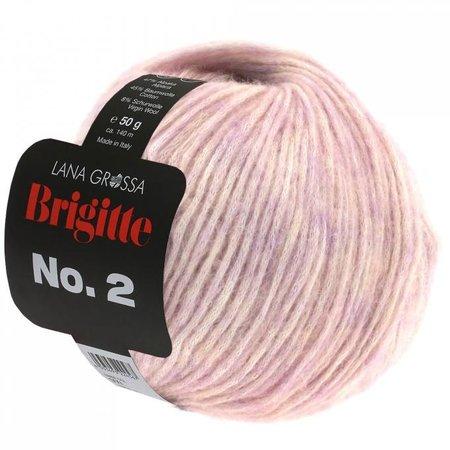 Lana Grossa Brigitte No.2 - 12 - Oudroze
