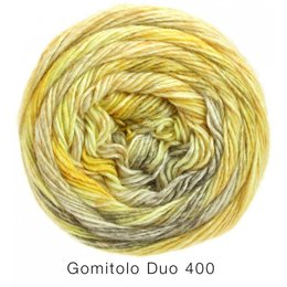 Lana Grossa Gomitolo Duo 400 geel (805)