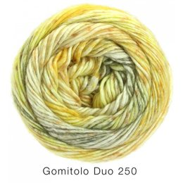 Lana Grossa Gomitolo Duo 250 geel (905)