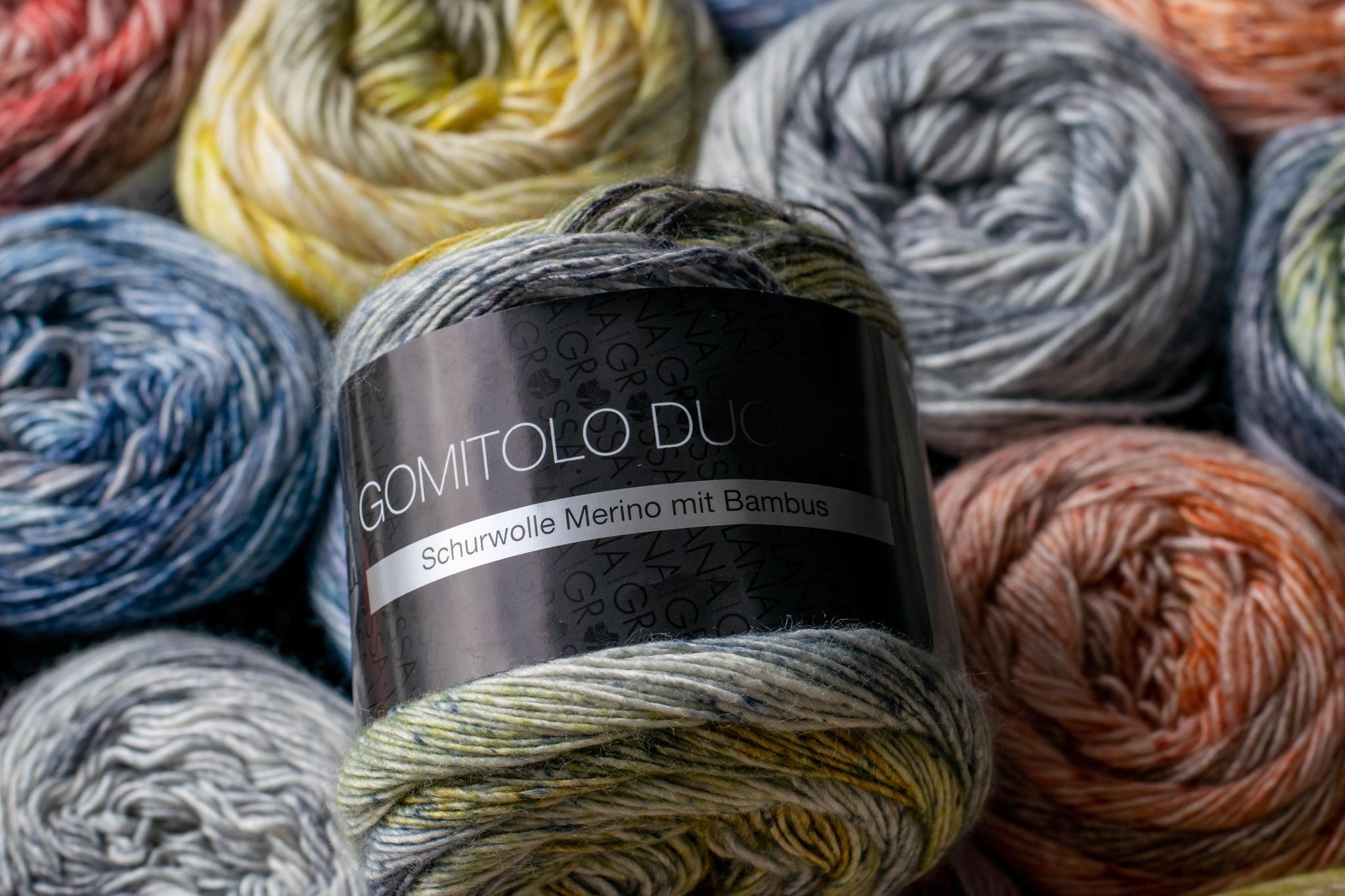 Lana Grossa: Gomitolo Duo 250 & 400