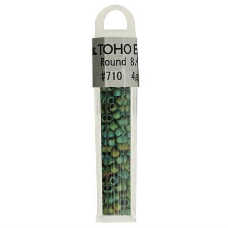 Toho Glaskralen rond 8-0 groen (710)