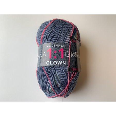 Lana Grossa Meilenweit 1:1 Clown 721