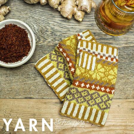 Scheepjes Ginger Root Gloves  - Yarn 8