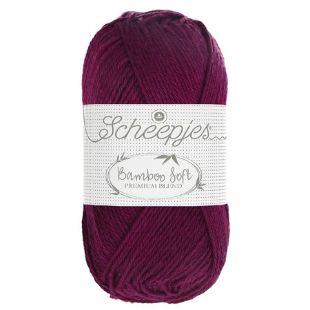 Scheepjes Bamboo Soft Deep Cherry (251)