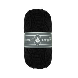 Durable Cosy Extrafine Black (325)