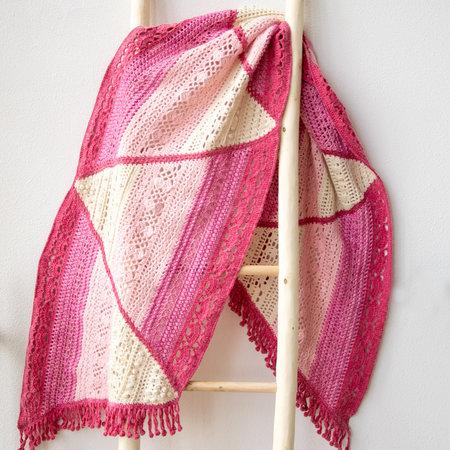 Haakpakket Wrap Pink Dream