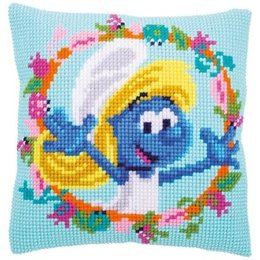 Vervaco Kussen The Smurfs Smurfette