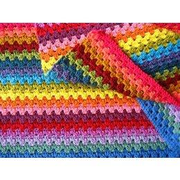 Haakpakket: Granny Stripe - Sunny Colours - Attic 24
