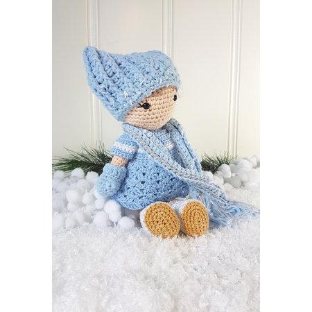 "Caro's Atelier Haakpatroon ""Frozen"" winteroutfit Carolientje (digitaal)"