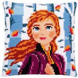 Vervaco Kussen Frozen II Anna