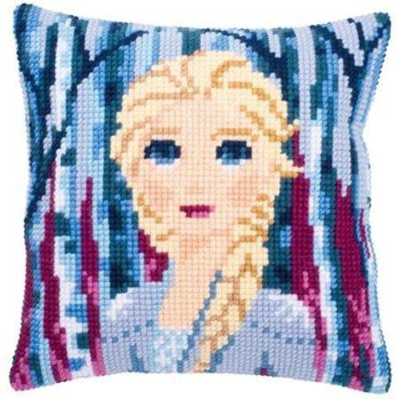 Vervaco Kussen Frozen II Elsa