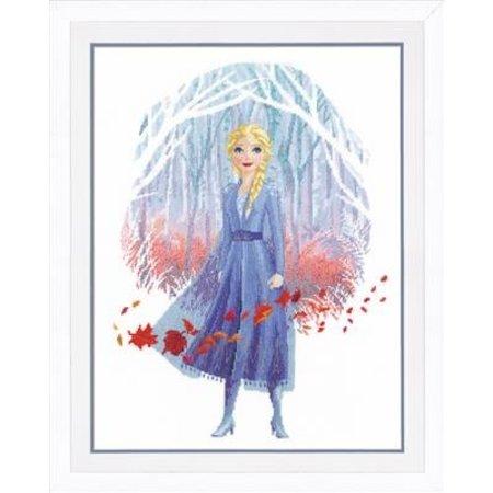 Vervaco Borduurpakket Frozen II Elsa