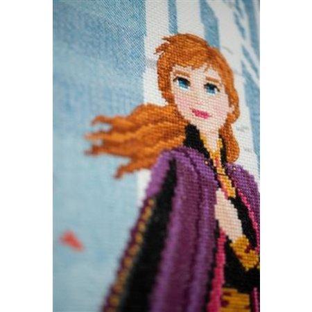 Vervaco Borduurpakket Frozen II Anna