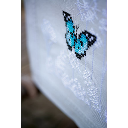 Vervaco Borduurpakket loper Vlinderdans