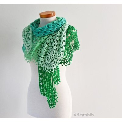Haakpakket: Pepper Shawl