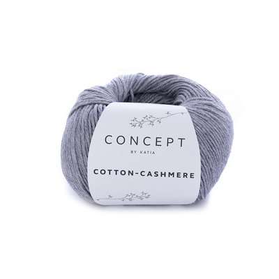 Katia Cotton cashmere grijs (59)