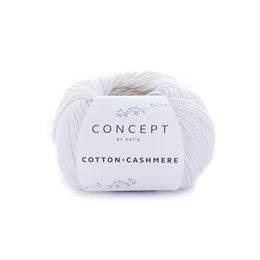Katia Cotton cashmere 52 - wit