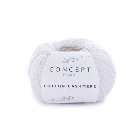 Katia Cotton cashmere wit (52)