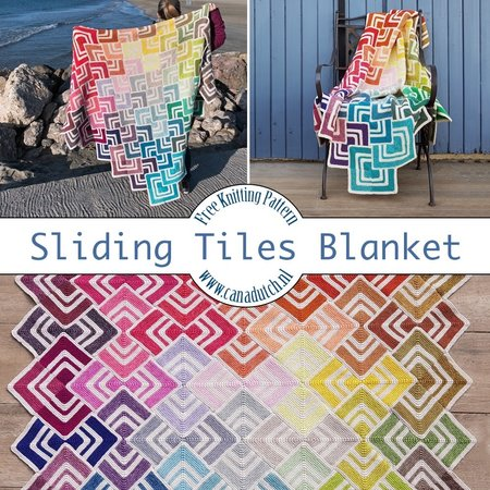 Scheepjes Breipakket: Sliding Tiles Blanket