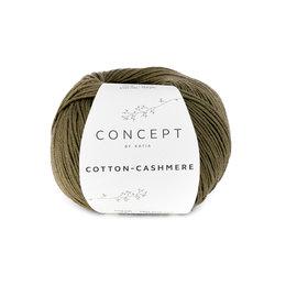 Katia Cotton cashmere 71 - Kaki
