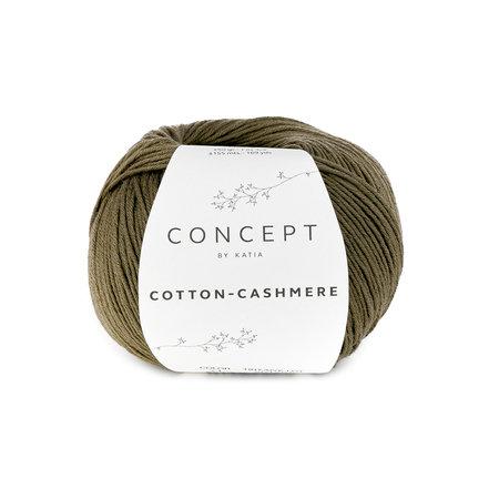 Katia Cotton cashmere Kaki (71)