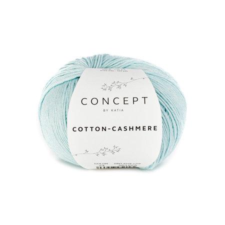 Katia Cotton cashmere Waterblauw (73)
