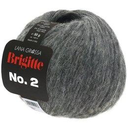 Lana Grossa Brigitte No. 2 Antraciet (24)