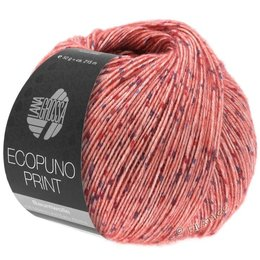 Lana Grossa Ecopuno Print 103 - rood
