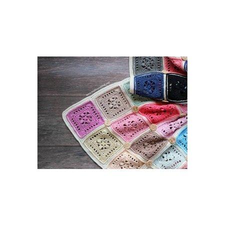 Haakpatroon Button Blanket