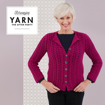 Scheepjes Yarn afterparty 48: Posy Cardigan