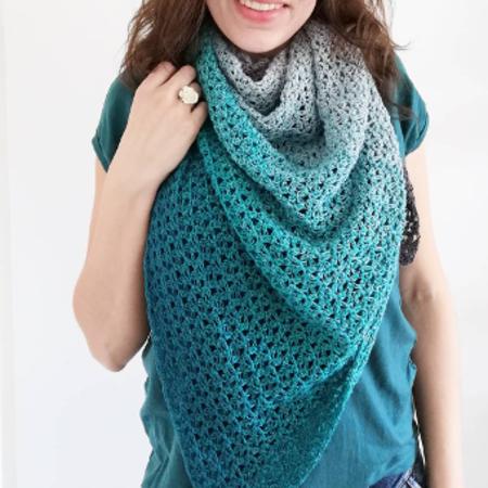 Garenpakket Asymmetrische sjaal